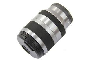 Sony-Alpha-SEL18200-E-mount-18-200mm-F3-5-6-3-OSS-Lens-Silver-BRAND-NEW