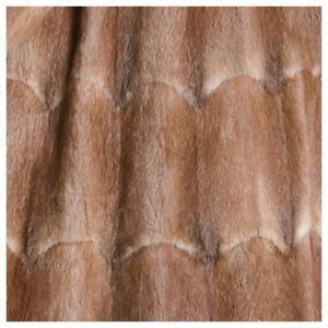 di medio Fodera Bisam in marrone pelliccia riciclato 1WqZpgn