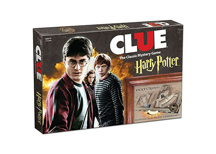 Clue Harry Potter Boad Game The Classic Mystery Game Playing Cards