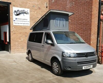 Vw t5 Swb slim line pop top roof. ** £1650 fully fitted**