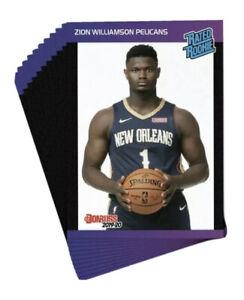 2019-20-Panini-Donruss-Retro-Rated-Rookie-45-Card-Set-Zion-Ja-RJ-Coby-Rui-Herro