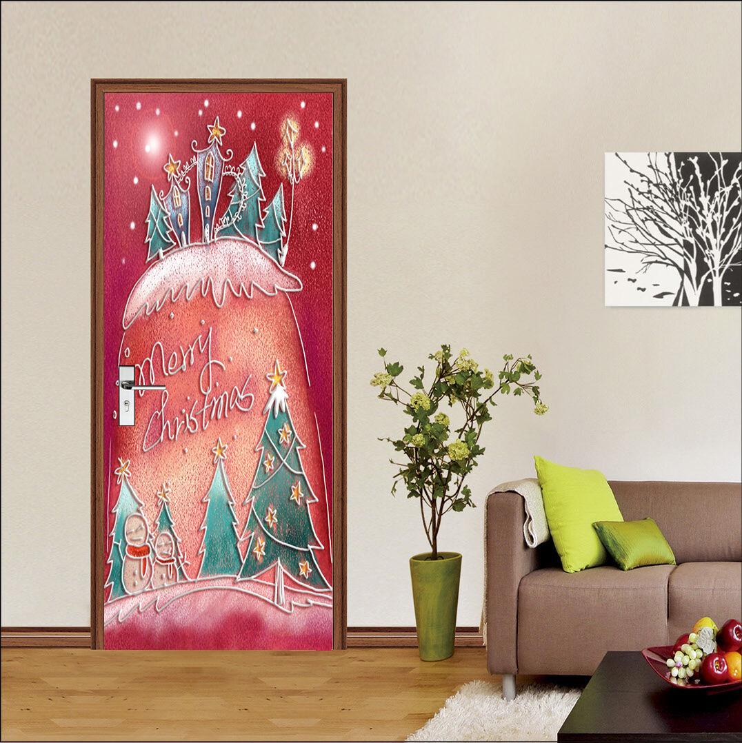 3D Karikatur 87 Tür Wandmalerei Wandaufkleber Aufkleber AJ WALLPAPER DE Kyra  |   | Verschiedene Stile und Stile  | Qualitätsprodukte