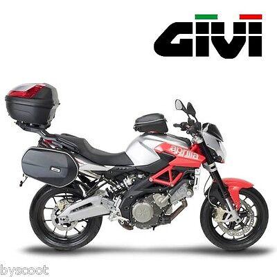 Support Fixations GIVI APRILIA Shiver 750 moto 2010 à 2014 topcase sacoches NEUF