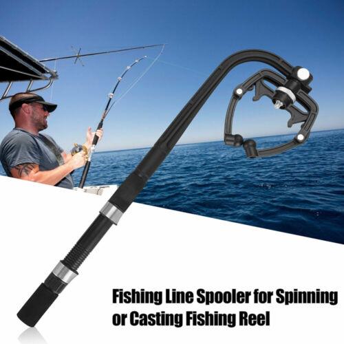 Fishing Reel Line Spooler Winder Machine Station System Spinning Casting Line EB