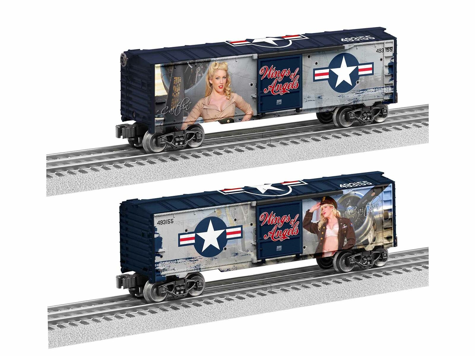 Lionel 1938260 Wings of Angels Caitlin scatola auto o GAUGE TRENI fatto IN USA