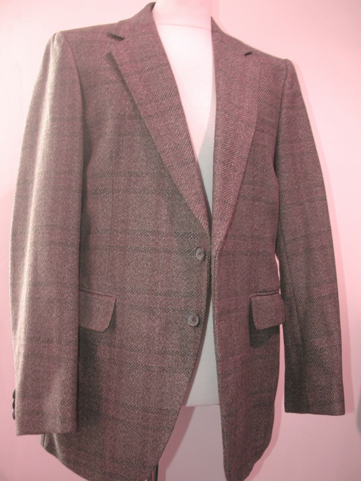 CLASSIC VINTAGE 'GRENDALE' wolleBLEND BLAZER - ABOUT A 38 R