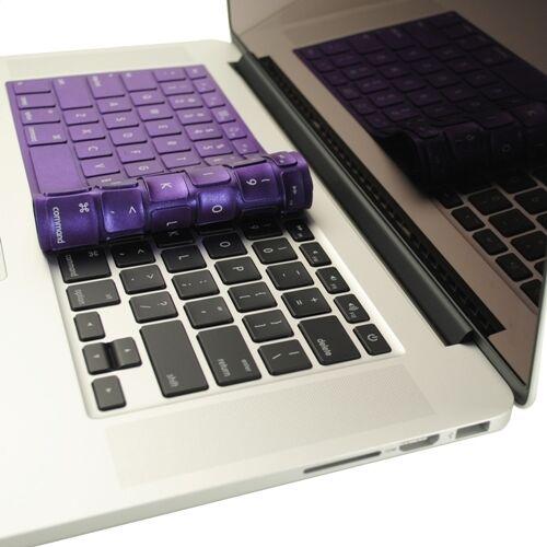 "Retina display Shimmering PURPLE Keyboard Skin for NEW Macbook Pro 13/"" A1425"