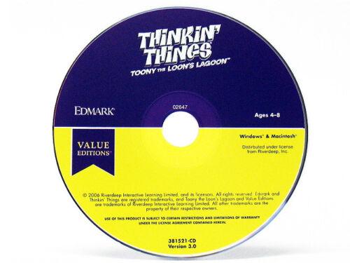 95//98 Toony the Loon/'s Lagoon Vista Windows 8 7 Thinking Things XP