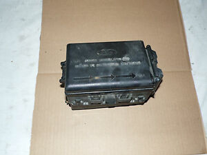 oem 97 03 ford f150 power distribution box assembly w cover lid electronic fuses ebay