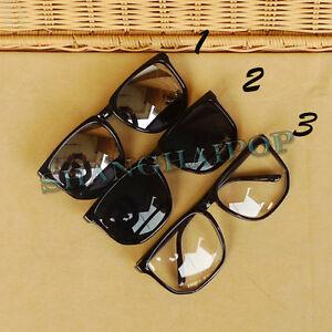 Glasses Frame Hurts My Ear : Fashion Sunglasses Big Mirror/Dark/Clear Lens Glasses ...