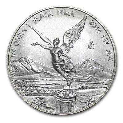 2018 Mexico Libertad 1//2 oz .999 Silver BU Round Very Limited Bullion Coin