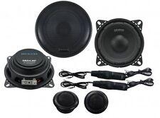 CRUNCH dsx4.2c COMPONENT CAR Audio Altoparlanti Porta Scaffale SLIM profondità 120w
