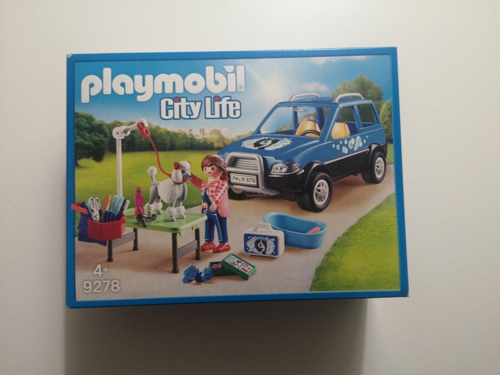 PLAYMOBIL® City Life 9278 Mobiler Hundesalon