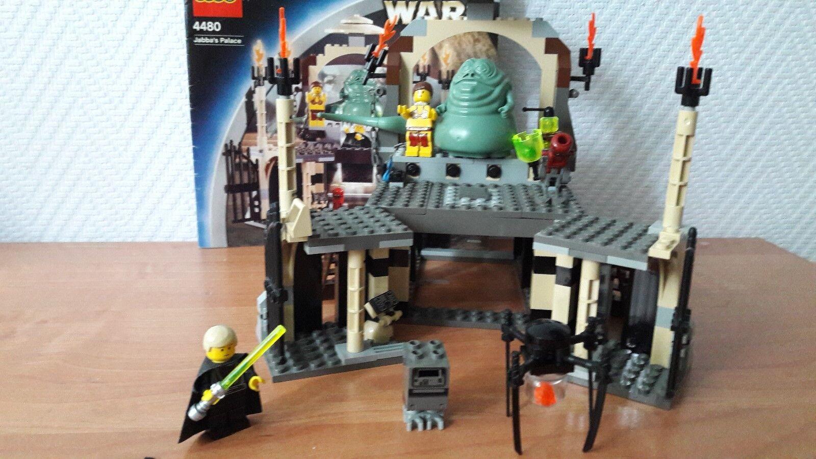 LEGO Star Wars 4480 Jabba's Palace mit Bauanleitung
