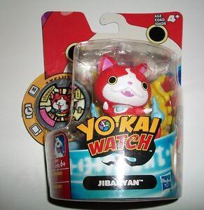 Yo-Kai-Watch-Medal-Moments-JIBANYAN-Figure-amp-Medal-Age-4-Hasbro-2015-TOY-NIP