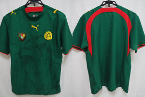 da6afe8936 Image is loading 2006-2007-Cameroon-The-Indomitable-Lions-Jersey-Shirt-