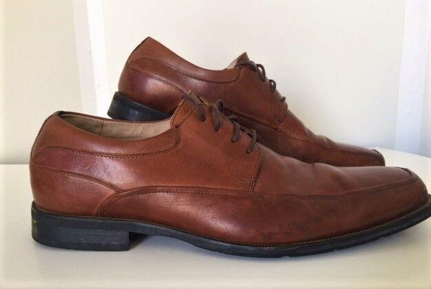 Florsheim Men's Brown Leather Split Toe Oxfords 14051-200 Size 15D