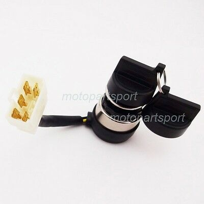 Ignition Key Switch 5 Wire For 170F 178FA 178F 186F 186FA Chinese Generator
