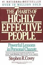 The Seven Habits of Highly Effective People by Stephen R. Covey (1990, Paperback, Revised)