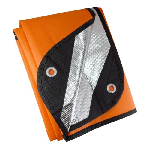 Ultimate Survival Technologies Survival Blanket 2.0 Orange//Silver Emergency