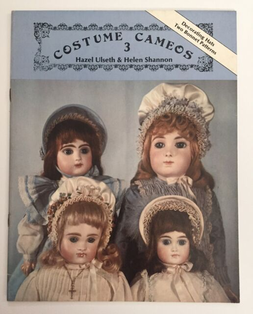 Costume Cameos 3 Bonnets & Hats Hazel Ulseth & Helen Shannon ©1984 - 15 Pages