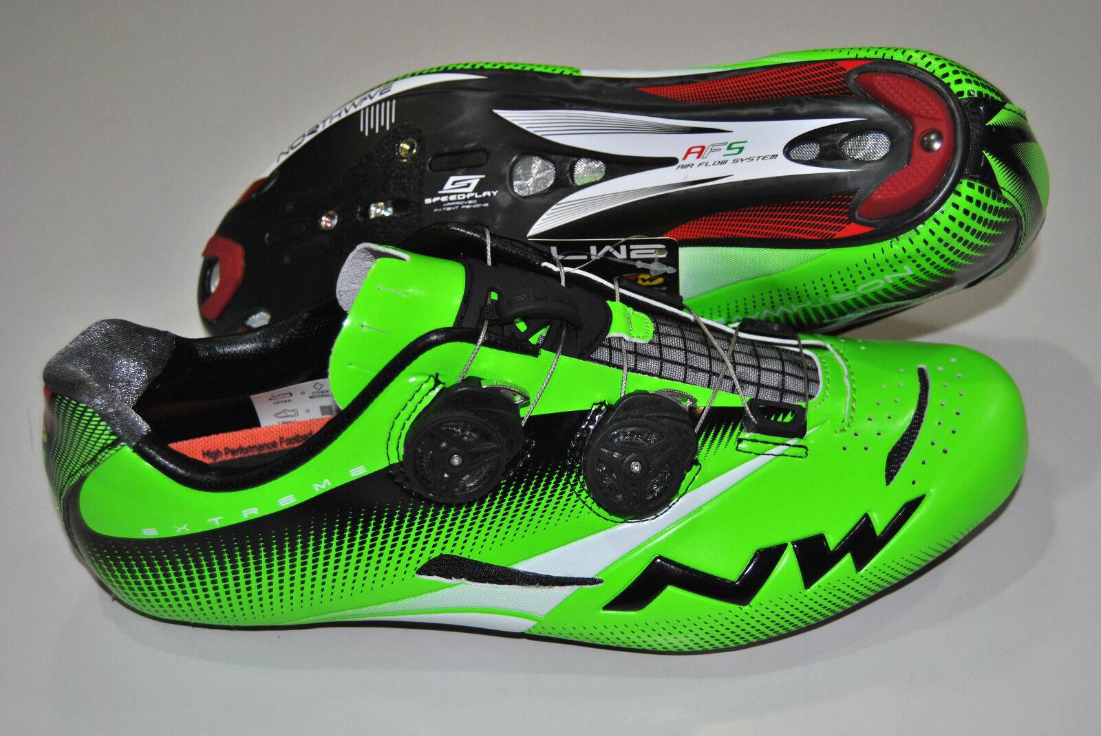 Scarpe NORTHWAVE Corsa EXTREME TECH PLUS verde Fluoscarpe NORTHWAVE EXTREME TECH