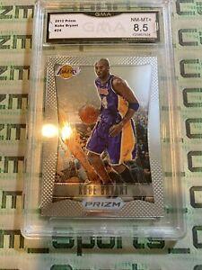 Kobe Bryant 2012-13 Prizm GMA Graded 8.5 Psa Bgs Sgc Low Pop 1st Year Prizm