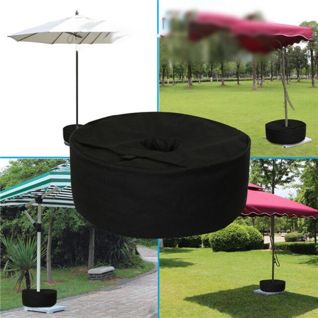 Round Sand Bag Weights fr Outdoor Tent Umbrella Sunshade Base Stand Patio Garden