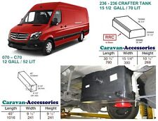 Water Tank Kit Fresh & Waste for Crafter/Sprinter D.I.Y. Kit van to Campervan