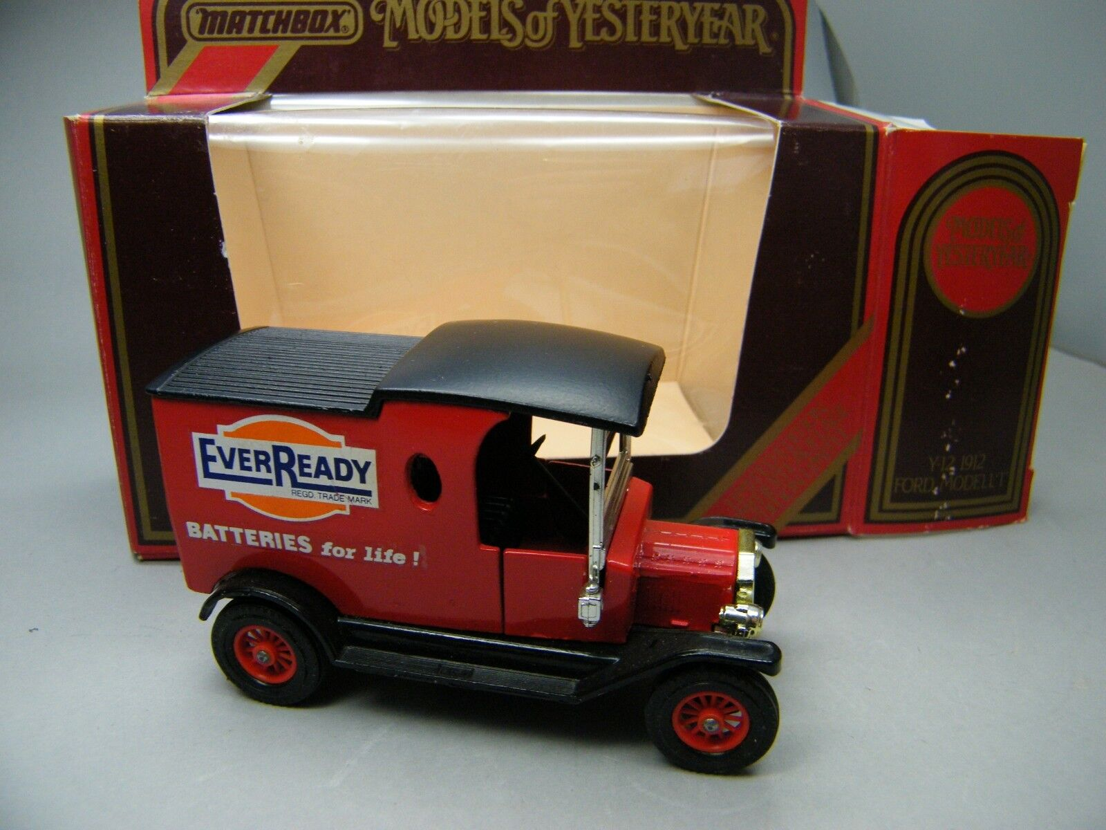 MATCHBOX Moy c2 y-12 FORD T EVER READY mano pattern Lunch Time molto raramente OVP k09