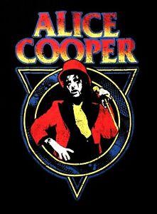 ALICE-COOPER-cd-lgo-SNAKE-SKIN-Official-Black-SHIRT-Size-XXL-2X-new