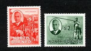 North Borneo - SG# 367 & 368 MH ((rem)     -     Lot 1020181