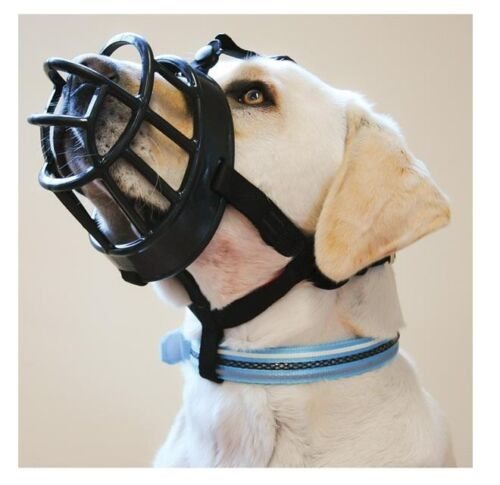 BaskerVille Ultra Muzzle for Dogs Extremely Tough Durable Size 1 to 6
