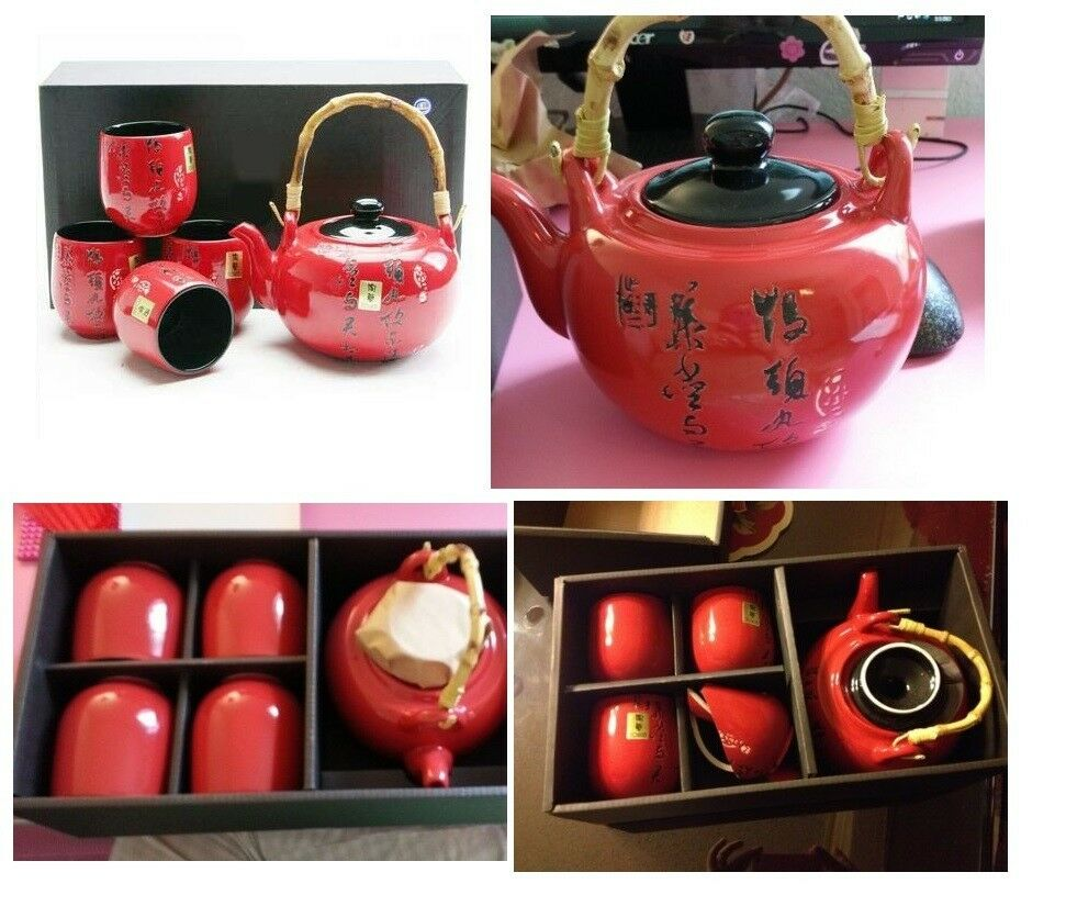 Japanese Tea Set Teapot Teacup, Oriental Decoration, Great Gift For Any Occasion