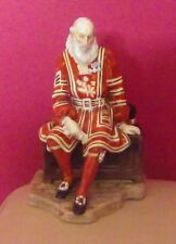 VERY RARE ROYAL DOULTON CHARACTER FIGURE - YEOMAN OF THE GUARD HN 2122 - MINT !!