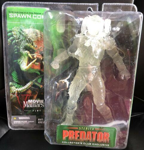 McFarlane/'s Movie Maniacs 5-Stealth Predator COLLECTORS CLUB EXCLUSIVE-NEUF