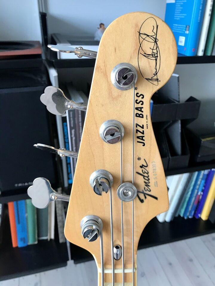 Elbas, Fender Marcus Miller Jazz Bass