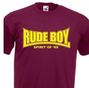 9cfbec98 Rude Boy T-Shirt Spirit of 69 Oi Ska Punk Skinhead S-XXL   eBay