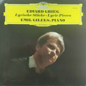 DGG STEREO 2530 470 GRIEG LYRIC PIECES *EMIL GILELS* NM/NM
