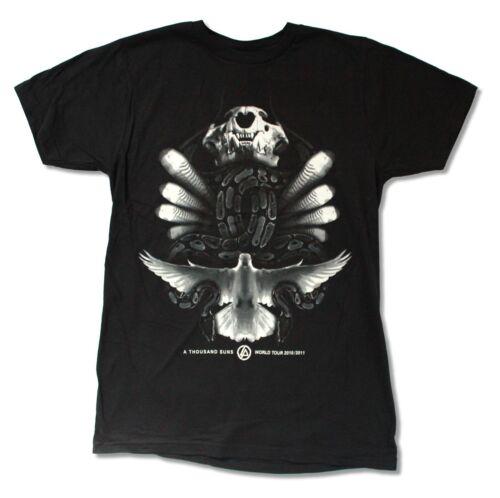 Linkin Park serpents TOUR Noir T Shirt New Official Band Merch