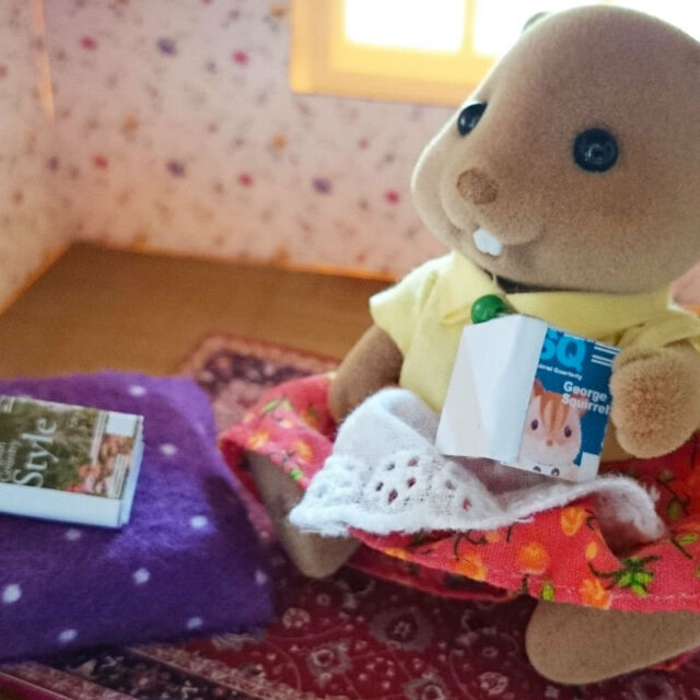 Custom COUNTRY STYLE & SQUIRREL QUARTERLY magazines | Sylvanian Families