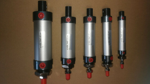 einfach wirkenender Luftzylinder Pneumatikzylinder  ETMAL-EWZ-40x50