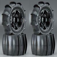 "Pro-line 1179-11 3.8"" 40 Series Mounted Sling Shot Tires w/ Desperado Wheels (4)"