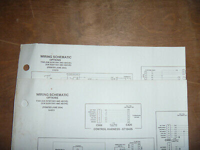 Bobcat T300 Skid Steer Electrical Wiring Diagram Schematic Manual 521911001  UP | eBayeBay