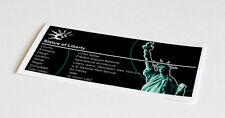 Lego Creator UCS Sticker for Statue of Liberty 3450