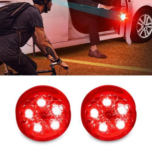 2 Pcs//Set Car Door LED Laser Light Safety Warning Laser Light For All Cars YB D