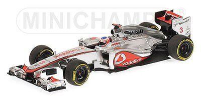 Minichamps 530 124303 McLaren MP4-27 F1 Modelo del Coche de carrera Jenson Button 2012 1:43rd