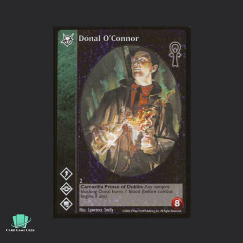 1x Donal O/'Connor Vampire Eternal Struggle VTES Jyhad