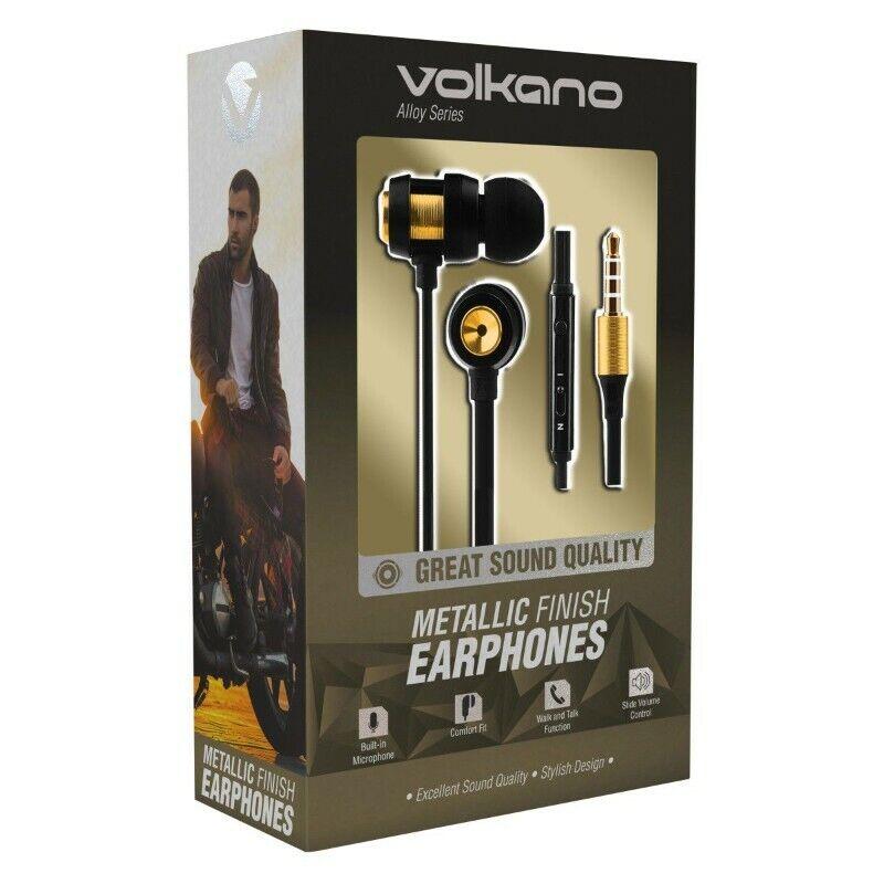 Volkano Metallic Series Earphones
