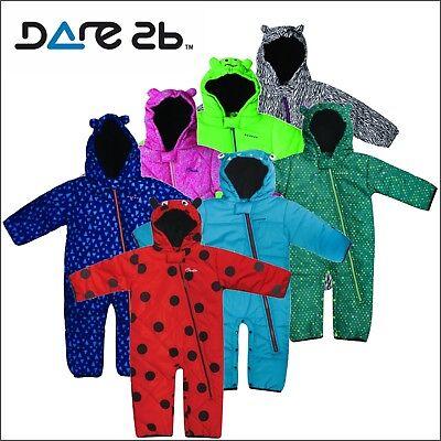 Dare 2b Boys /& Girls Break The Ice Waterproof Breathable Baby Snow Suit